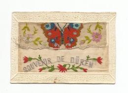 Carte Brodée-souvenir Duren - Dueren