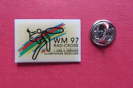 Pin's,Sport,Velo,CYCLOCROSS RAD-CROSS WM 97 MÜNCHEN,Cycliste,Bike - Cyclisme