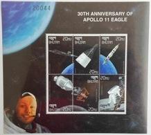 Bhutan 1999**Mi.1970-75. 30th Anniversary Of Apollo 11 Eagle MNH [5;13] - Raumfahrt