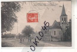 79 St Saint MARTIN De Sanzay ( Deux Sèvres ) - Eglise Les Halles Les Postes Et Télégraphe Animé CPA Robineau Généalogie - Altri Comuni
