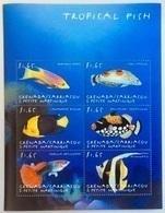 Grenada Carriacou 2000**  Tropical Fish , MNH [3;61] - Vissen