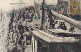 CP Nouvelles Hébrides Recrues Diverses îles YT Nouvelle Calédonie 41 + 90 CAD Arrivée Pékin Correspondance Armées 7 3 09 - Briefe U. Dokumente