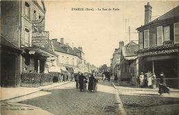 EURE  EVREUX  La Rue De Paris - Evreux