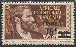 AFRIQUE EQUATORIALE FRANCAISE - AEF - A.E.F. - 1940 - YT 139** - Neufs