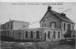 DONVILLE LES BAINS COLONIE DE VACANCES LES CHARDONS BLEUS (avec Tampon) - France