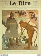 """REVUE """"LE RIRE ROUGE""""-1916-106-LE DIABLE-ROUBILLE,MIRANDE,HAUTOT,HUARD,GENTY - Livres, BD, Revues"""