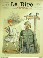 """REVUE """"LE RIRE ROUGE""""-1916- 63-GRECE-BULGARIE-LEANDRE-NOB-GENTY - Libri, Riviste, Fumetti"""