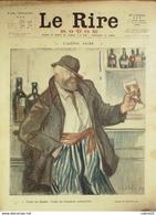 "REVUE ""LE RIRE ROUGE""-1917-119-L'ALCOOL-FAIVRE,BERNARD,GENTY,WATT,DELAW - Libri, Riviste, Fumetti"
