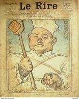 """REVUE """"LE RIRE ROUGE""""-1918-178-JEU De CARTES-LEANDRE,NISIS,FLORES,JOUENNE,GERBAU - Books, Magazines, Comics"""
