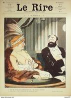 """REVUE """"LE RIRE""""-1910-411-Dessin FAIVRE THOMEN BURRET VILLA POULBOT CAPY,METIVET - Books, Magazines, Comics"""