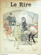 """REVUE """"LE RIRE""""-1911-420-Dessin MIRANDE GERVESE NEVIL VILLEMOT PIERLIS,METIVET - Books, Magazines, Comics"""