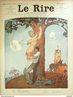 """REVUE """"LE RIRE""""-1912-484-Dessin MIRANDE HEMARD JORDIC GENTY GERVESE,LABORDE - Books, Magazines, Comics"""