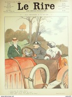 """REVUE """"LE RIRE""""-1912-505-Dessin FABIANO LE PETIT FALKE FLORES RADIGUET,GUILLAUME - 1900 - 1949"""