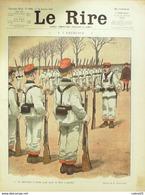 "REVUE ""LE RIRE""-1914-571-Dessin GERVESE GUILLAUME METIVET PREJELAN DHARM, DHARM - Books, Magazines, Comics"
