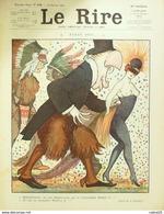"REVUE ""LE RIRE""-1914-578-Dessin ROUBILLE GERVESE HEMARD PREJELAN VALLEE WEYMAN - Books, Magazines, Comics"
