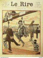 """REVUE """"LE RIRE""""-1919- 2-Dessin JEANNIOT FALKE GENTY ORSI VALLEE,AMOS,RADIGUET - Libri, Riviste, Fumetti"""