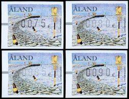 ALAND Distributeurs - Signaux Maritimes 4v Neuf ** MNH - Aland