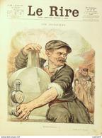 """REVUE """"LE RIRE""""-1920- 69-Dessin LEANDRE,CAPY,METIVET,PAVIS,NOB,HEMARDKERN - Livres, BD, Revues"""