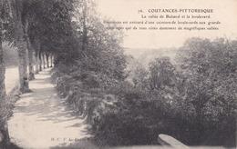 Coutances Pittoresque La Vallée De Bulsard Et Le Boulevard éditeur M.C.F.L N°76 - Coutances