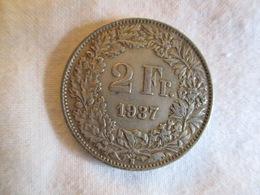 Suisse: 2 Francs 1937 - Suisse