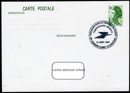 """Type Liberté 1f90 - Cachet Illustré """"Inauguration Du Bureau De Poste""""  Gondrecourt-le-Château (55) 1987 - Entiers Postaux"""