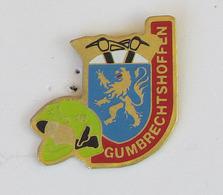 1 Pin's Sapeurs Pompiers De GUMBRECHTSHOFFEN (BAS RHIN-67) - Pompiers