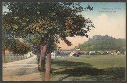 Homburg (Pfalz), Zweibrückerstrasse. Karte Aus Etwa 1906; Im Umschlag Gesandt (sehe Text) - Saarpfalz-Kreis