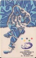 ESLOVAQUIA. World Winter Universiade '99. ICE HOCKEY. A 107, 31/98 ST. (034) - Juegos Olímpicos