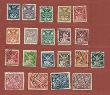 Timbre Tchécoslovaquie N° 155 - 156 - 157 - 158 - 160 - 161 - 162 - 163 - 164 - 166 - 167 - 168 - 169 - 172 - 174 - 175 - Tschechoslowakei/CSSR