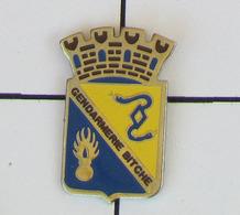 1 Pin's GENDARMERIE DE BITCHE - Militaria