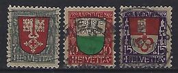 Switzerland 1919  Pro Juventute (o)  Mi.149-151 - Pro Juventute