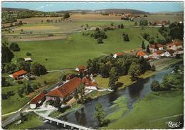 25  Montbenoit   Son Chateau Et La Colonie De Vacances De Clairval Les Pins Vue Aerienne - Autres Communes