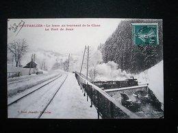 PONTARLIER LE TRAM AU TOURNANTDE LA CLUSE - Pontarlier