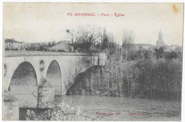 Marssac Pont Eglise - France