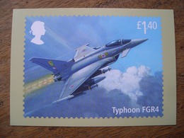 Red Arrows, Royal Air Force, Typhoon FGR4 - Timbres (représentations)