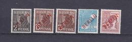 Berlin - 1949 - Michel Nr. 21+25/26+31 - Ungebr. - 27 Euro - Nuevos