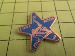 513e PINS PIN'S / Beau Et Rare : Thème SPORTS / GYMNASTIQUE ETOILE DE SAINT BERON - Gimnasia