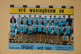 CYCLISME: CYCLISTE : GROUPE MARC VRD - Ciclismo