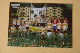 CYCLISME: CYCLISTE : GROUPE KWANTUM - Cyclisme