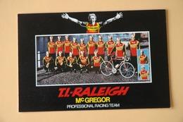 CYCLISME: CYCLISTE : GROUPE TI RALEIGH - Cyclisme