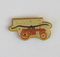 1 Pin's Sapeurs Pompiers De SOULTZ SOUS FORETS (BAS RHIN-67) - Pompiers