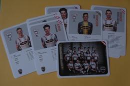CYCLISME: CYCLISTE : EQUIPE RIWAL  2019 COMPLETE - Cyclisme