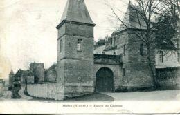 N°75427 -cpa Médan -entrée Du Château- - Medan
