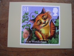 Alice In Wonderland, Alice Aux Pays Des Merveilles The Cheshire Cat - Timbres (représentations)