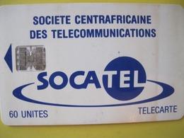 Télécarte De République Centrale Africaine - República Centroafricana