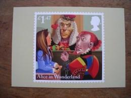 Alice In Wonderland, Alice Aux Pays Des Merveilles Alice's Evidence - Timbres (représentations)