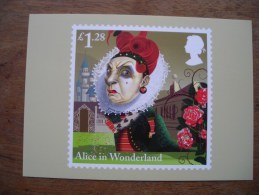 Alice In Wonderland, Alice Aux Pays Des Merveilles The Queen Of Hearts - Timbres (représentations)