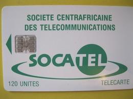 Télécarte De République Centrale Africaine - Centraal-Afrikaanse Republiek