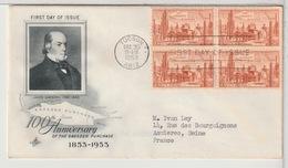 ETATS-UNIS - USA - FDC 1953 - Ersttagsbelege (FDC)