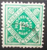 N°565B TIMBRE DEUTSCHES REICH WURTEMBERG OBLITERE - Wurttemberg